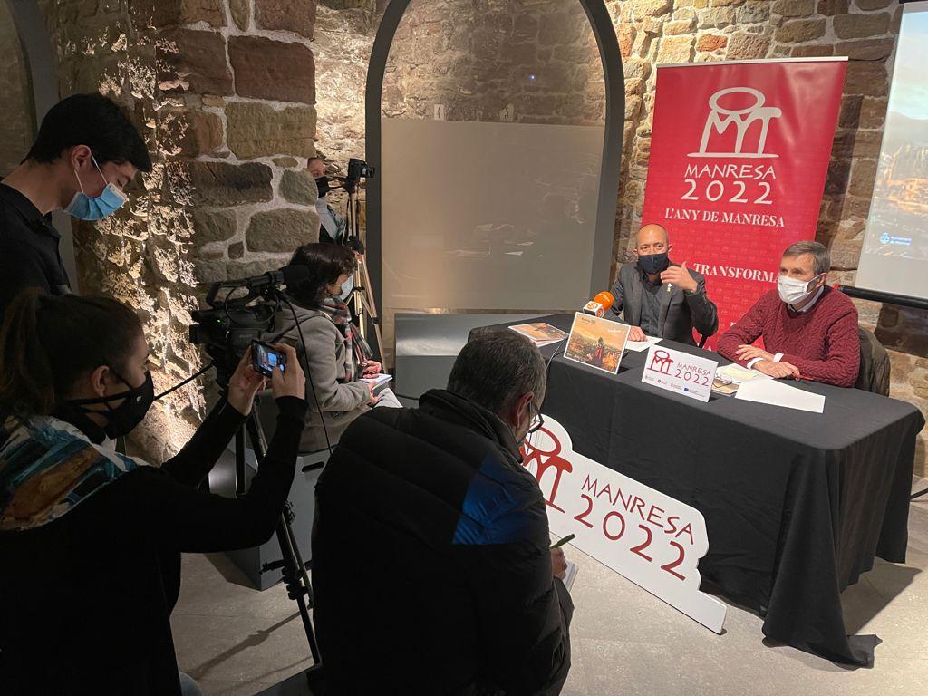 Manresa presenta els actes d'enguany vinculats a Manresa 2022 amb la mirada posada en la celebració dels 500 anys de l'estada d'Ignasi de Loiola a la ciutat