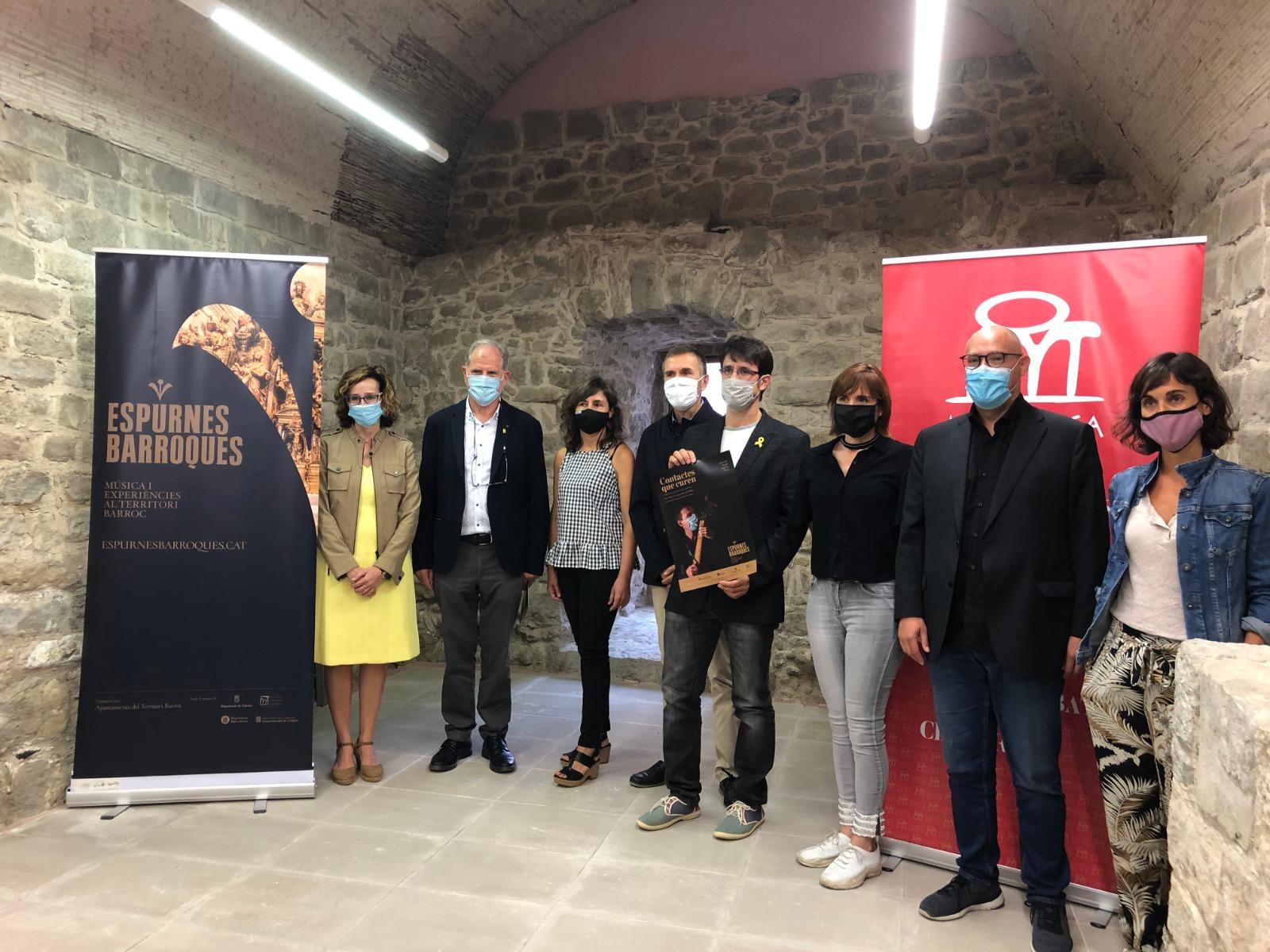 """Espurnes Barroques presenta la 3a edició del festival sota el lema """"Contactes que curen"""""""