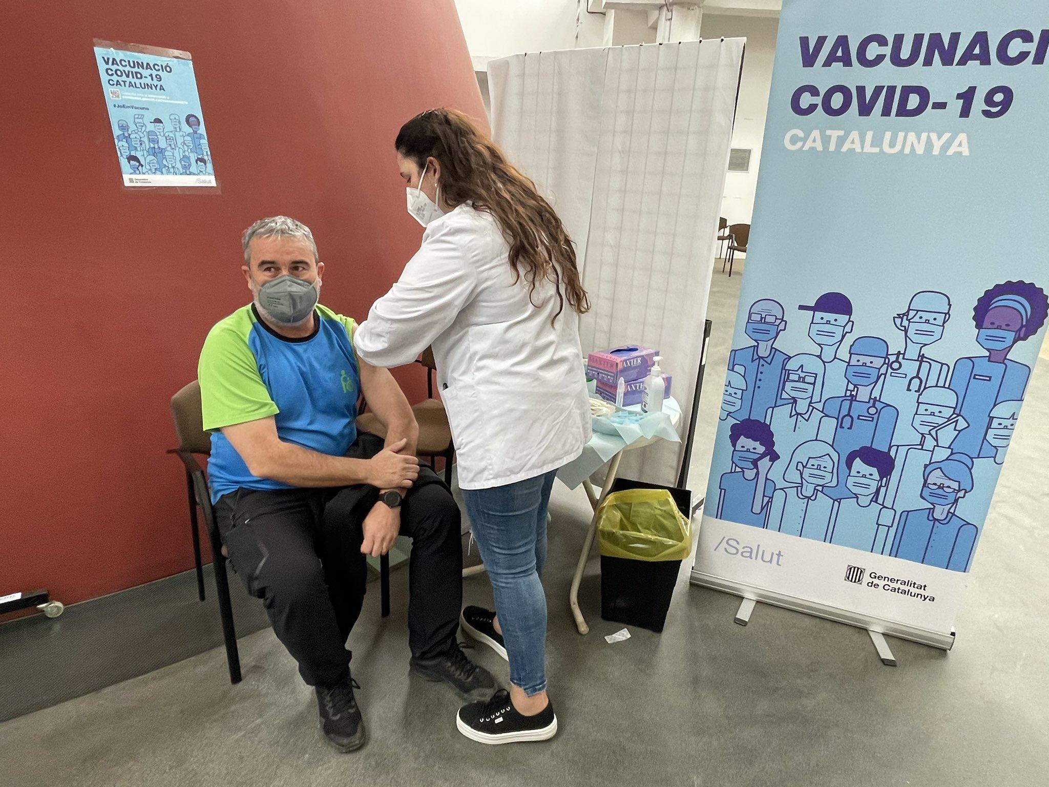 El Punt de Vacunació del Palau Firal de Manresa obre les tardes d'agost sense cita prèvia
