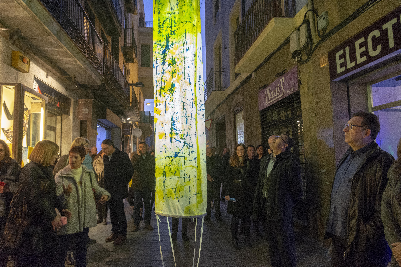 El Jardins de Llum participa en un intercanvi d'artistes amb cinc festivals més d'art efímer a l'espai públic