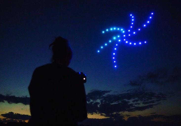 L'espectacle de drons del 3 de gener també es podrà veure en directe per Facebook Live i a través de Canal Taronja