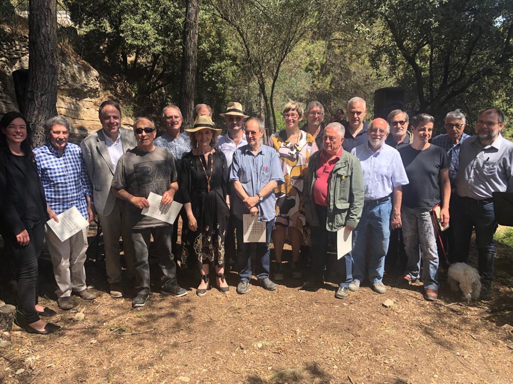 Manresa acull l'homenatge a les persones que treballen per promoure l'art de la pedra seca i celebra la seva inclusió al patrimoni de la UNESCO