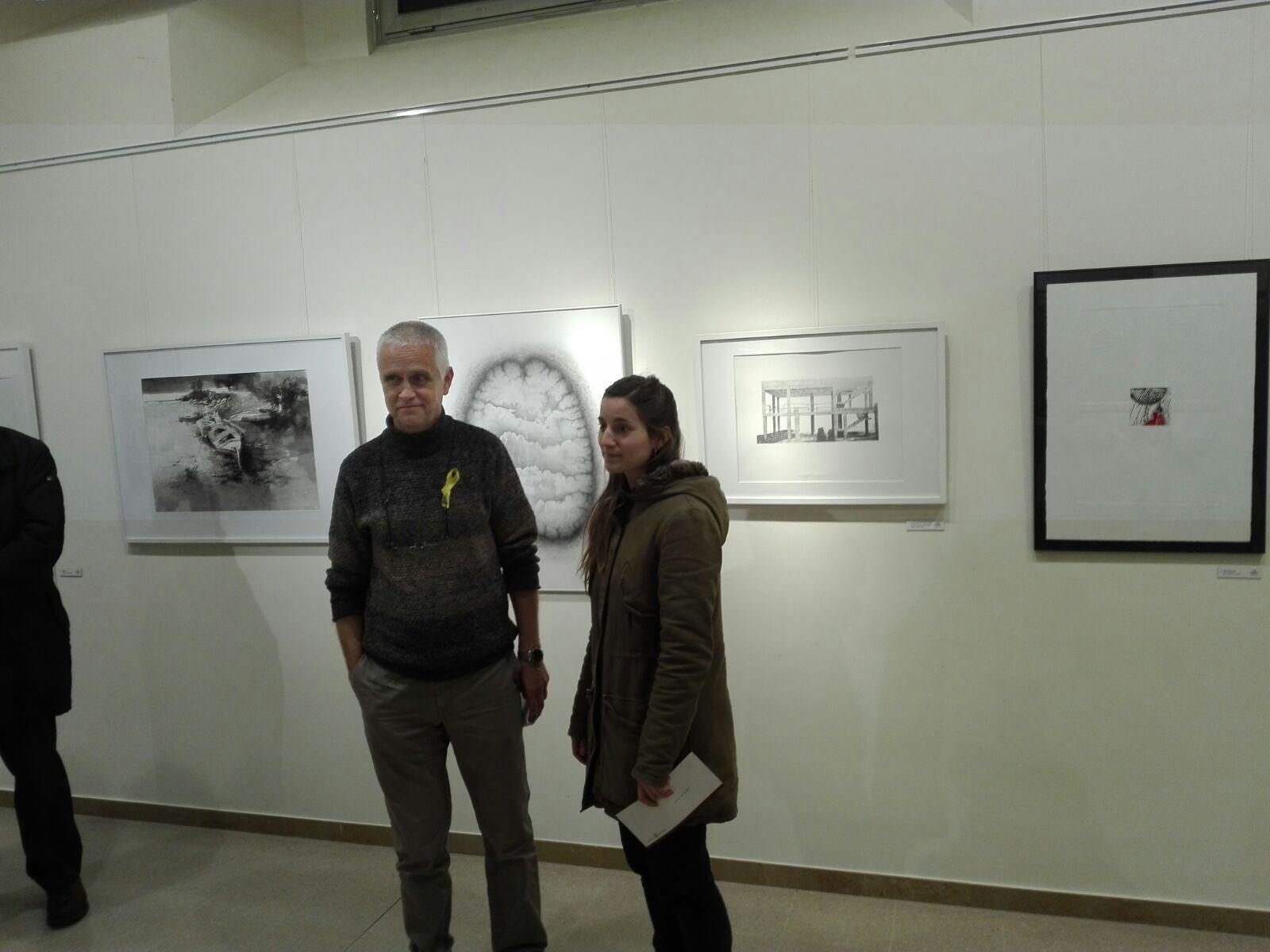Josep Morral i Anna Llimós guanyen el 24è Premi Joan Vilanova de dibuix i gravat