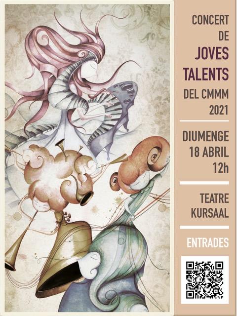 El Conservatori Municipal de Música de Manresa ofereix aquest diumenge el concert dels guanyadors del concurs Joves Talents