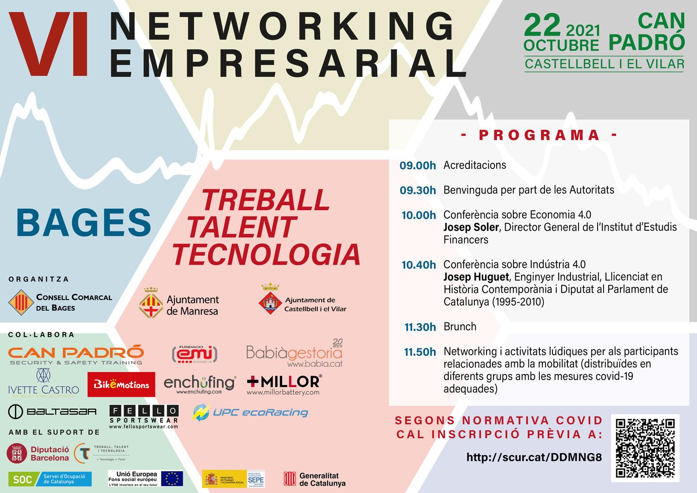 El projecte 'Bages TTT' programa a Castellbell i el Vilar una jornada de networking adreçada a les empreses d'automoció i mobilitat del territori