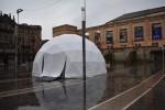 Manresa acull durant cinc dies una espectacular exposició amb imatges immersives en una cúpula geodèsica a Sant Domènec